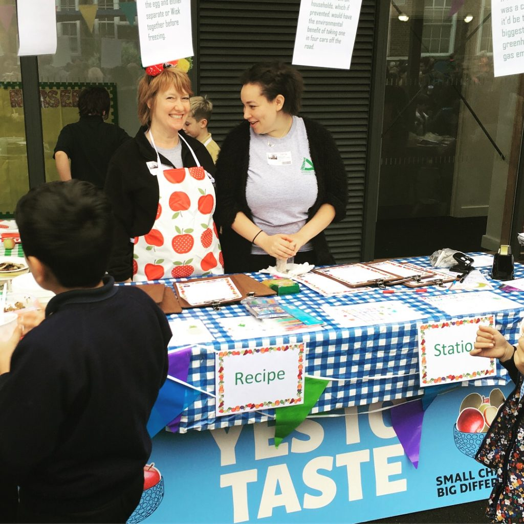 Schools Activity Photo - Yes to Taste